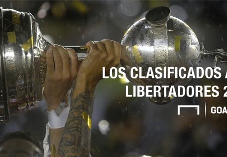 Los clasificados para la Libertadores 2017
