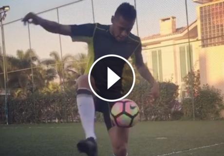 ► La magia de Neymar