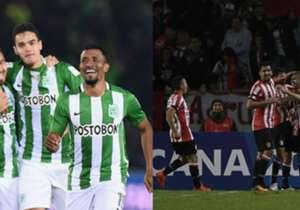 GRUPO 1: Atlético Nacional (Colombia) vs. Estudiantes de La Plata (Argentina) 12 y 19 de abril