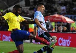 Argentina - Ecuador / Eliminatorias Sudamericanas / 08-10-2015 / Estadio Monumental.