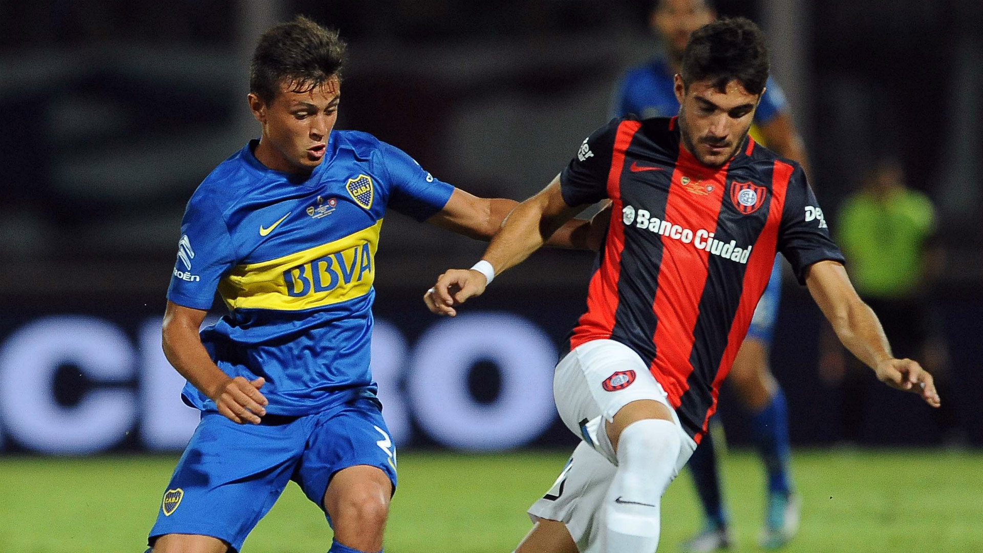 Adrián Cubas Ezequiel Cerutti Boca San Lorenzo Supercopa Argentina