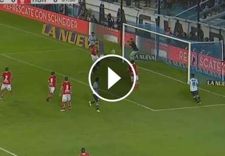► Lisandro López puso el 1-0