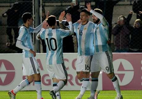 Argentina venció a Honduras