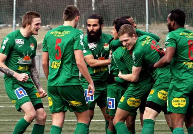 Dalkurd FF team
