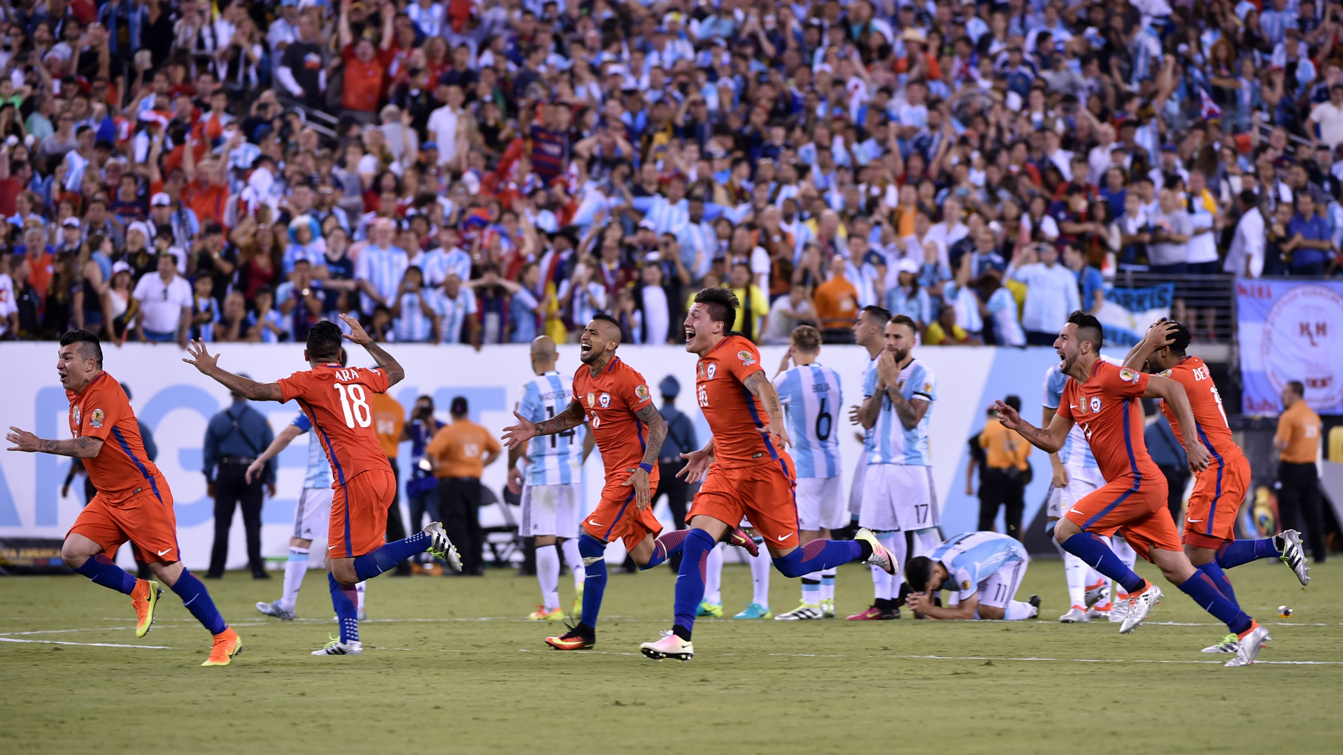 Argentina Chile Copa America Final