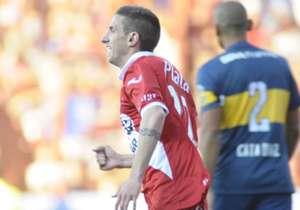 El volante se lesionó el 19 de septiembre ante Boca.