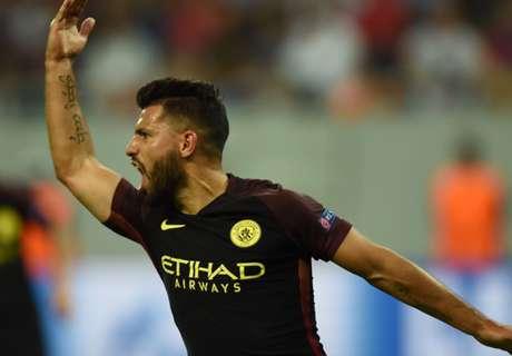 ► Agüero, 28 goles en 27 partidos
