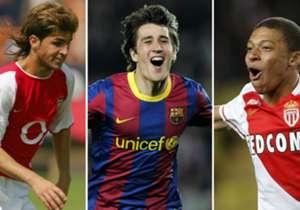 Todos quedamos sorprendidos con la edad de Kylian Mbappe, quien, con tan sólo 18 años, logró marcar su primer gol en la Champions League, en el duelo ante el Manchester City por los Octavos de Final. No obstante, el francés está lejos de ser el goleado...