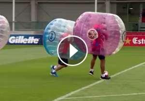 Barcelona training video