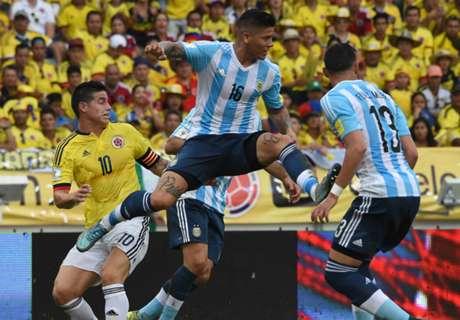 Argentina Raih Kemenangan Perdana