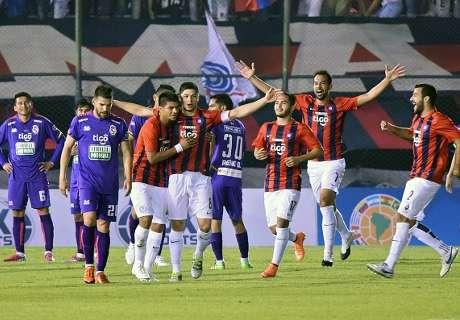 Goleada en Asunción