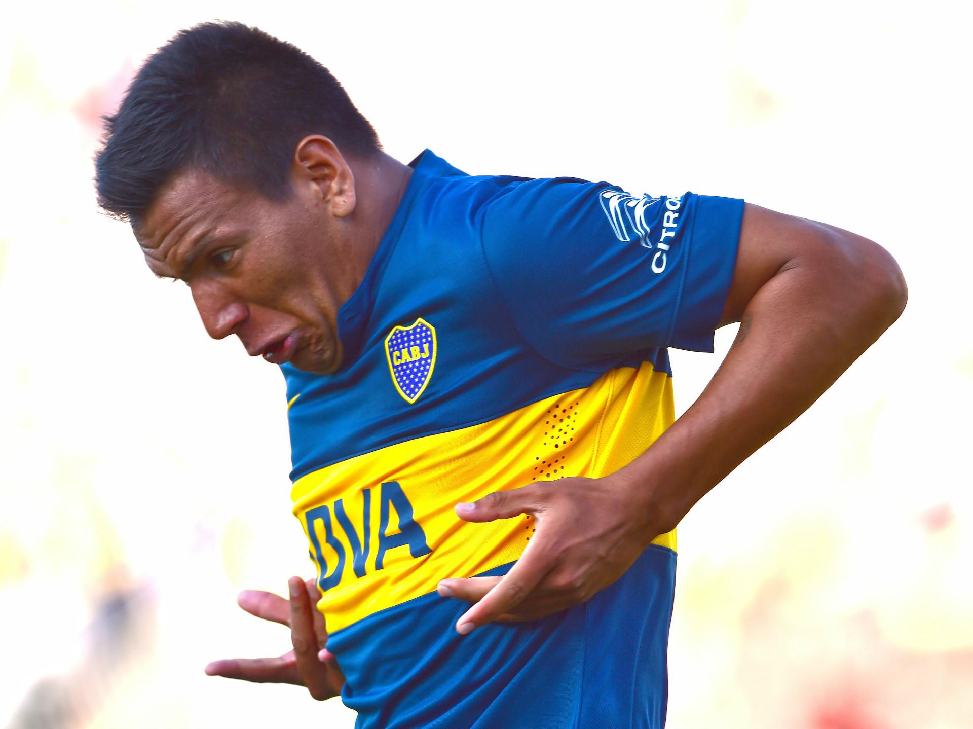 Andres Chavez Palestino Boca Copa Libertadores 2015 18022015