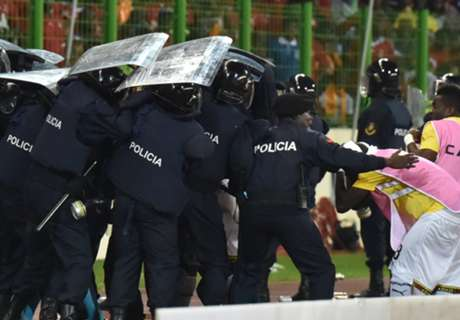 In Pictures: Violence erupts at AFCON