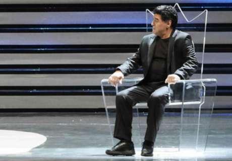 Maradona pidió perdón a su hijo