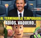 ESPAÑA: Memes de la salida de Luis Enrique del Barcelona
