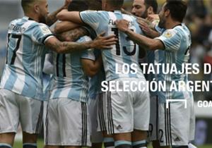 El plantel albiceleste es uno de los que está a la vanguardia a la hora de lucir tatuajes. ¿Cuáles son los modelos elegidos por los jugadores argentinos?