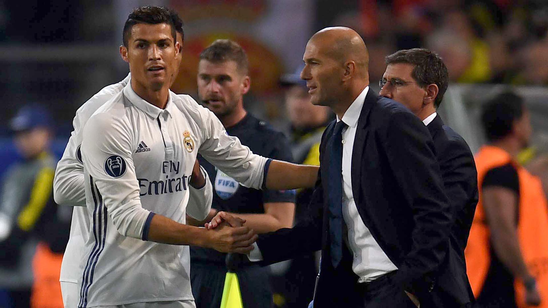 Real Madrid Borussia Dortmund Cristiano Ronaldo Zinedine Zidane UEFA Champions League