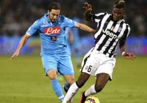 Napoli vs Juventus: Matchday 6 (27/9/15 - Stadio San Paolo), Matchday 25 (14/2/16 - Juventus Stadium)