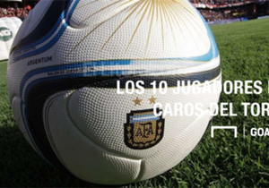Arranca el Campeonato de Primera División y en Goal te mostramos los apellidos de mayor valor, según el sitio especializado Transfermarkt.
