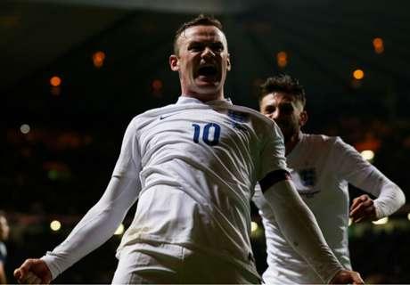 Rooney le dio el clásico a Inglaterra