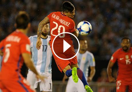 ¿Gol mal anulado a Chile?