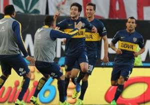 13/09/2015 River 0-1 Boca: Tras dos eliminaciones internacionales al hilo, Boca se dio el gusto de ganarle a River como visitante y de paso encaminó su rumbo hacia el título que finalmente conseguiría.