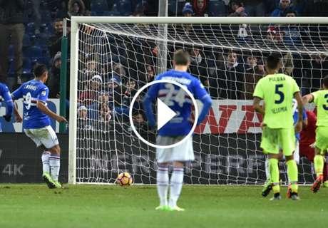 ► El gol de Muriel para Sampdoria