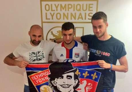 Lyon presentó a Mammana