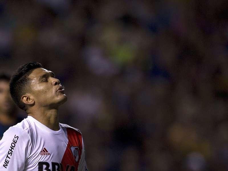 Teo Gutiérrez, con gripe, se pierde la Supercopa Argentina