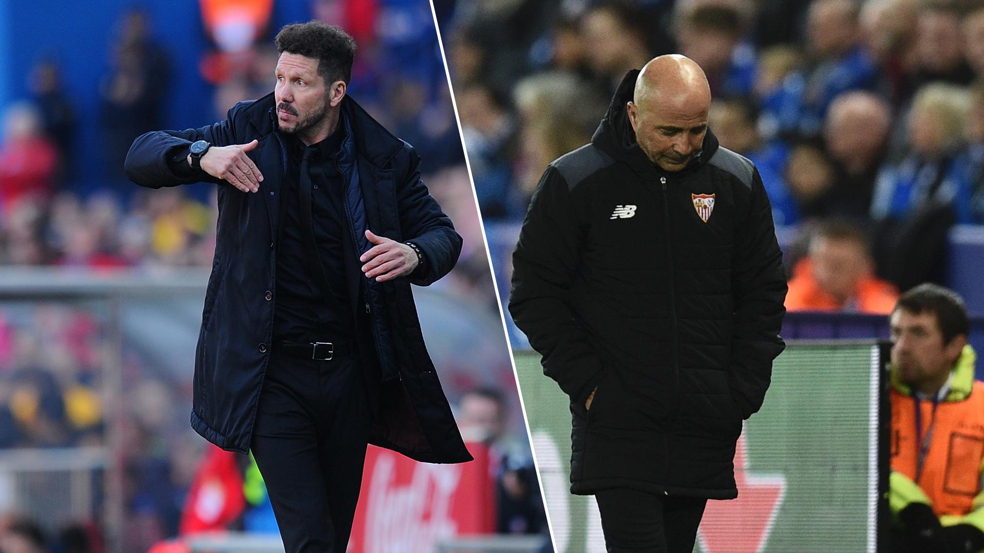 España: Atlético golpea Sevilla con un golazo y una asistencia de Griezmann