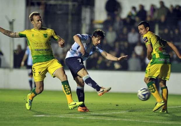 El Demonio festejó dos goles en Varela