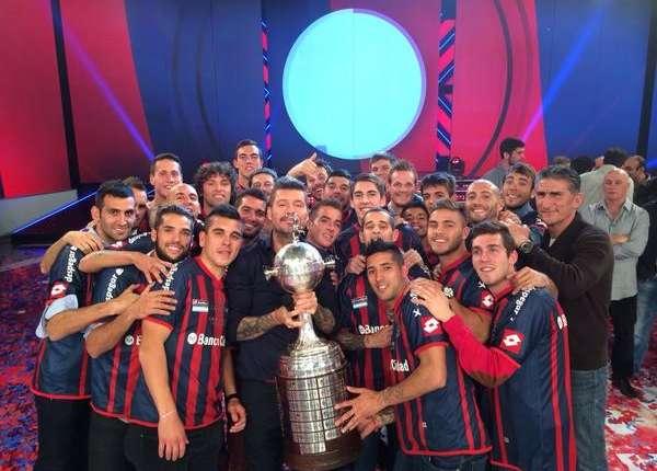 Tinelli San Lorenzo Copa Libertadores Showmatch