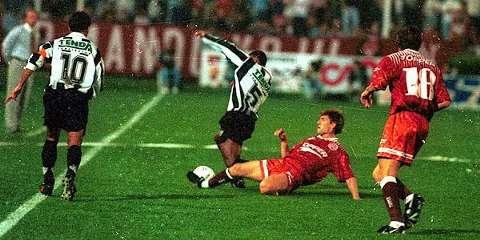 Lanus Atletico Mineiro Copa Conmebol 1997 Incidents