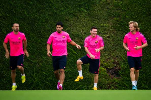 Barcelona take care of the boys in La Masia - Mascherano