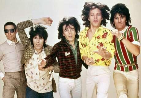 Mick Jagger traz sorte ao Flu