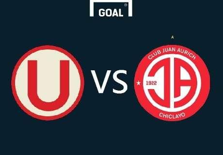 Perú: Universitaeio 1-1 Aurich