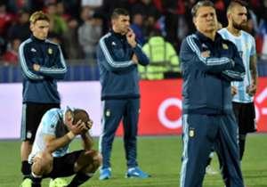 El técnico dijo que debió ganar Argentina.