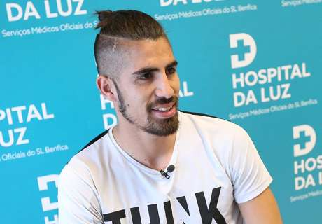 Benítez pasó la revisión en Benfica