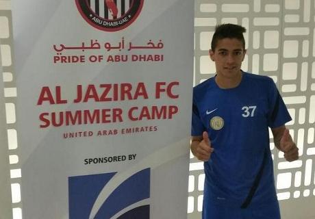 Lanzini,campeón con Al Jazira