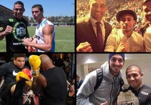 É notório que o UFC reúne milhões de fanáticos ao redor do mundo. Entre eles, várias figuras internacionais: atores, cantores, atletas olímpicos, boxeadores, jogadores de basquete e futebolistas. Jogadores do calibre de Cristiano Ronaldo, Beckham, Casi...