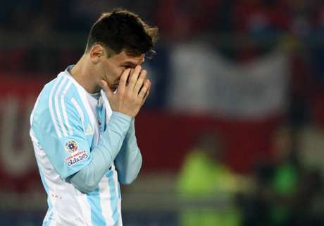 'Messi not to blame for Argentina failures'