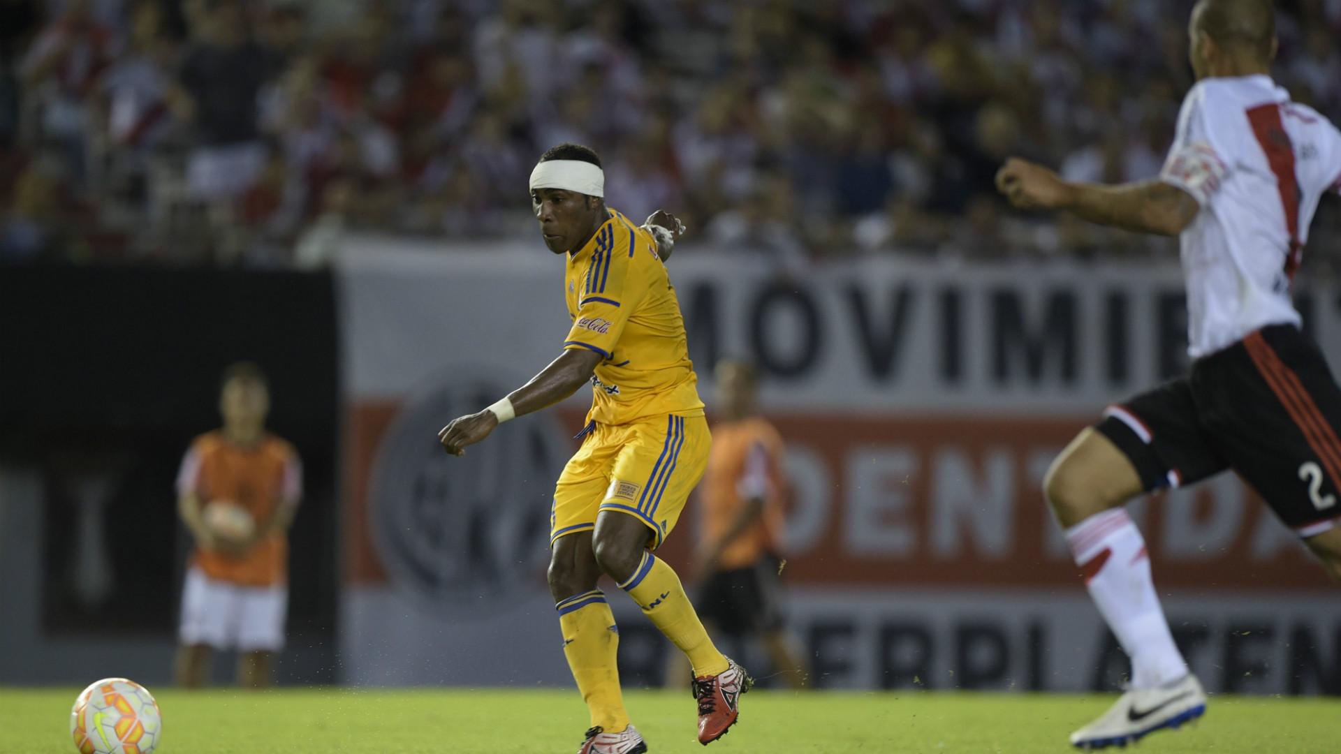 Joffre Guerron River Plate Tigres Copa Libertadores 05032015