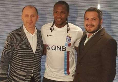 Rodallega se presentó con el Trabzonspor