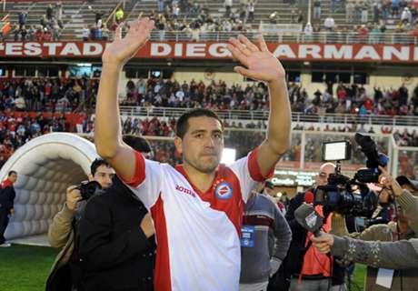Boca felicitó a Argentinos