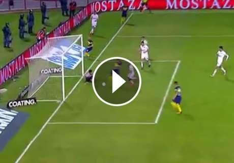 ► El segundo gol de Tevez