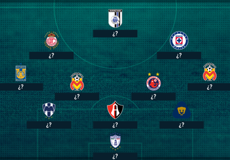 XI ideal de veteranos en la Liga MX