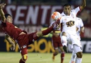 El equipo de Eduardo Domínguez festejó en Venezuela.