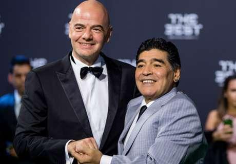 ¿Diego Embajador de la FIFA?