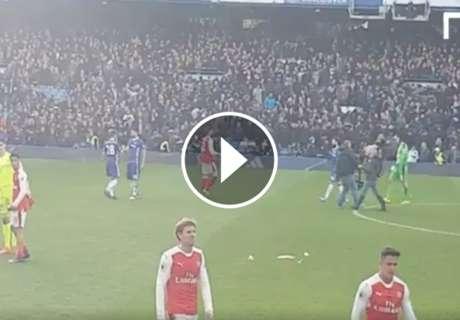 ► Özil reprochó a Alexis