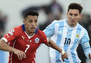 Messi vs. Sánchez